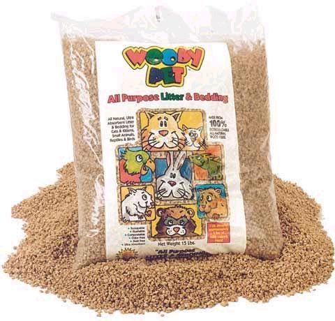 Woody Pet Cat Litter